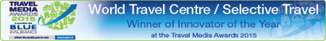 Innovator of the Year at the Travel Media Awards 2015